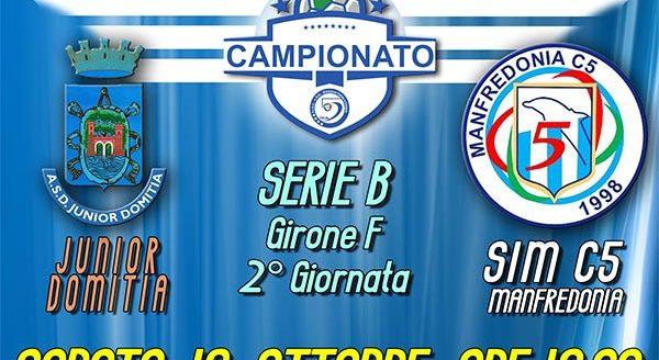 Junior Domitia vs SIM c5 Manfredonia
