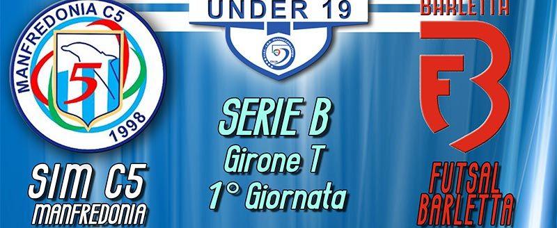 1° giornata Under 19 Girone T SIM c5 Manfredonia - Futsal Barletta
