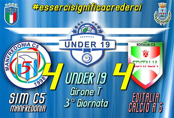 SIM c5 Manfredonia vs Editalia Calcio a 5