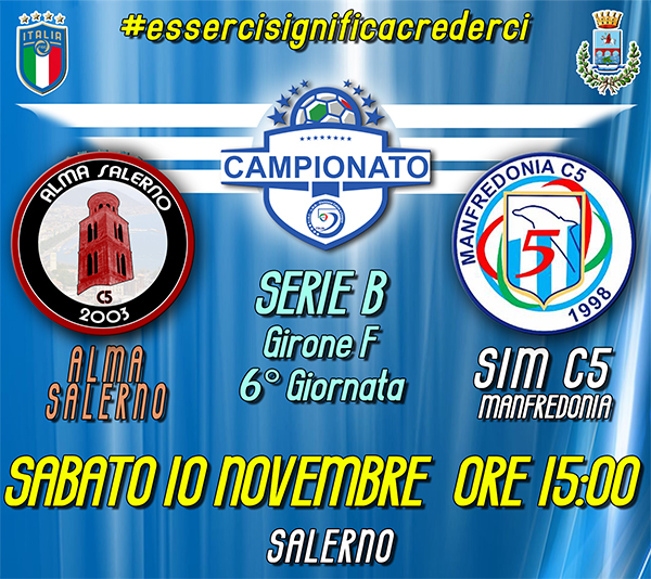 Alma Salerno vs SIM c5 Manfredonia